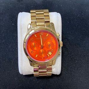 Michael Kors Chronograph Gold-Tone Watch